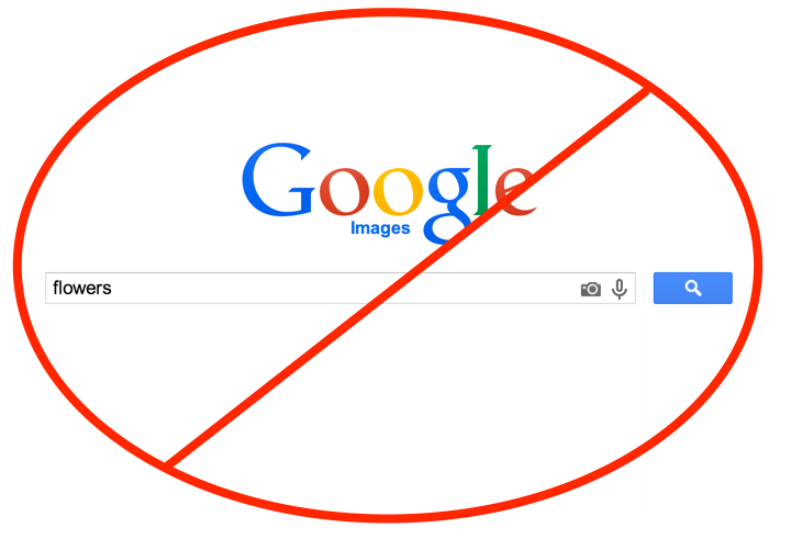 Using Google Images to find photos without online image copyrights is risky business and could cost you.