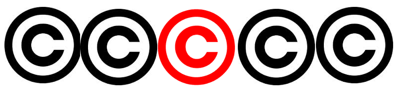 The copyright logo can be found on any copyrighted material, including online images.
