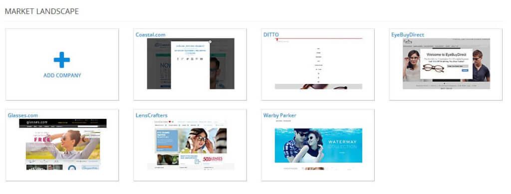 Online Eyeglass Sites Competitive Market Landscape