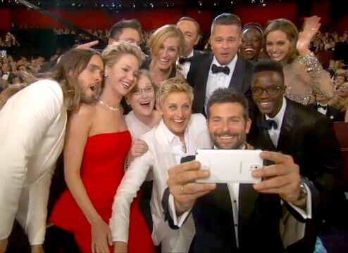 Samsung Selfie at Oscars