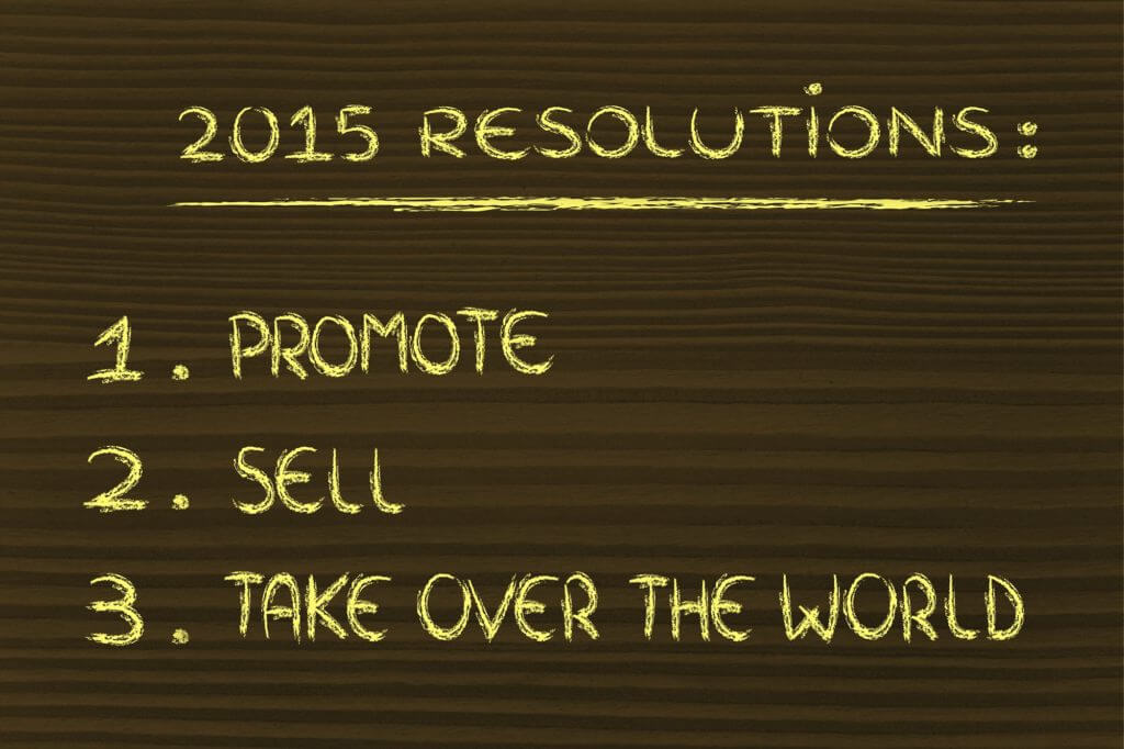 Marketing Resolutions for New Year