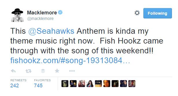 Macklemore Twitter Seahawks