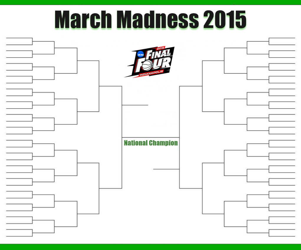 March Madness brackets