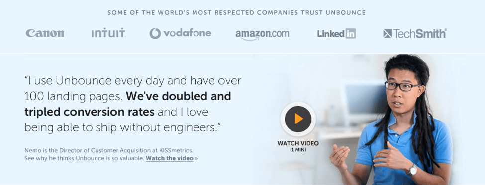 Unbounce Brand Message