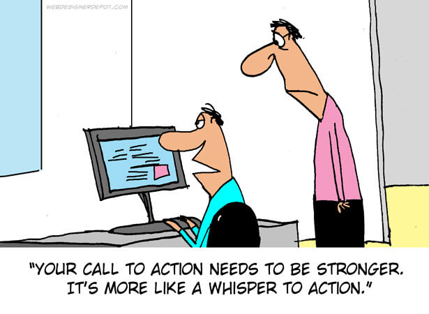 Marketing call to action