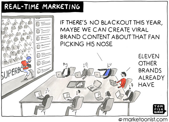 Timely marketing content