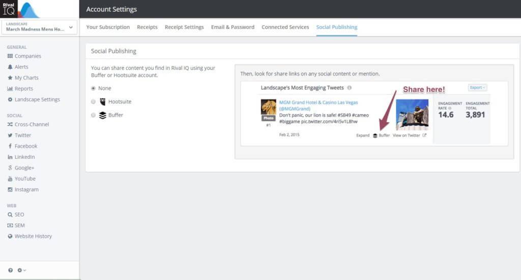Buffer Hootsuite Social Publishing Integration