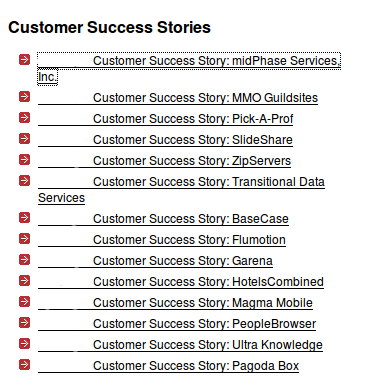 content audit case study example