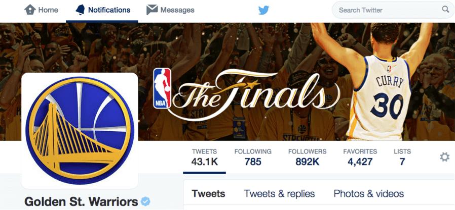 Social Media Analytics for Golden State Warriors