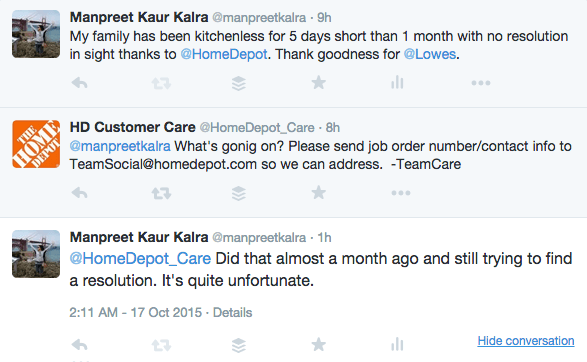 Branding Strategy Customer Care Home Depot Fail