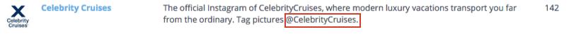 Instagram Marketing Hashtags in Profile Bio