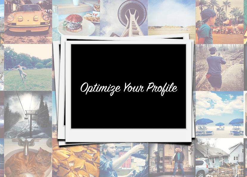 Instagram Marketing Optimize Profile
