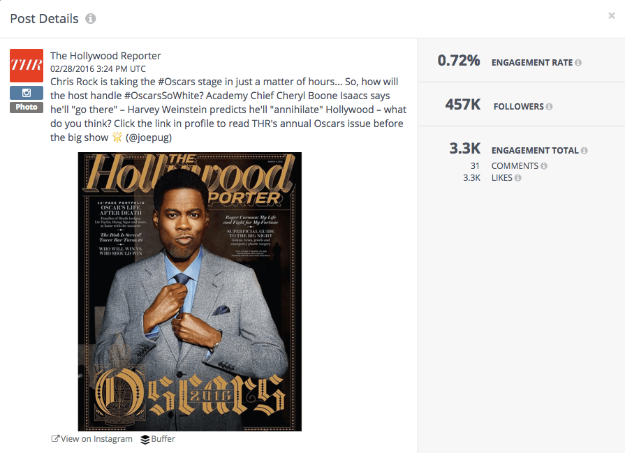 Chris Rock Hollywood Reporter Oscars