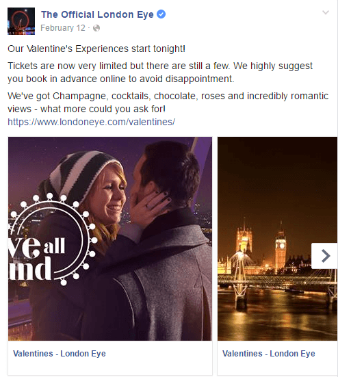 Facebook Carousel Ads London