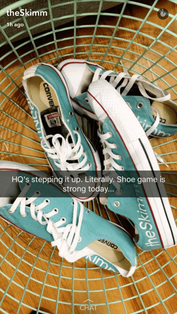 The Skimm Snapchat
