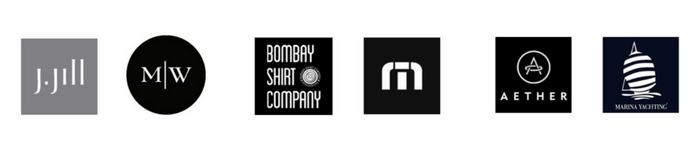 fashion brand companies included in the social media benchmark study