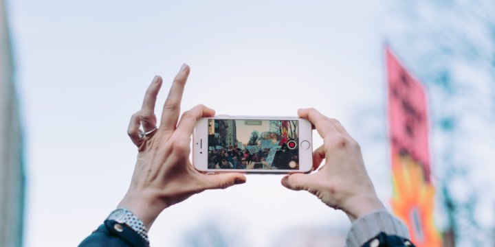 Capture events by simply using your cell phone