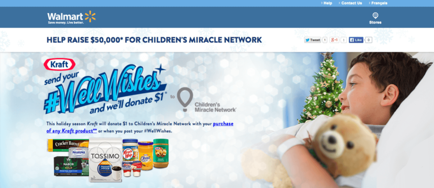 Walmart #wellwishes campaign should help inspire some holiday marketing ideas