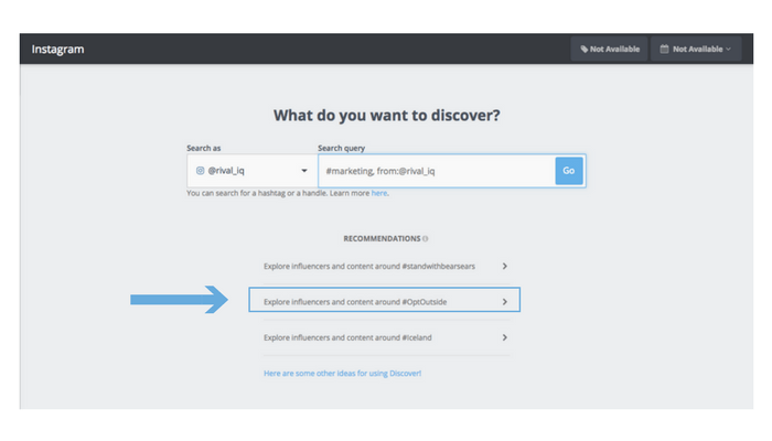 Our Favorite Ways to Use Discover Search | Rival IQ