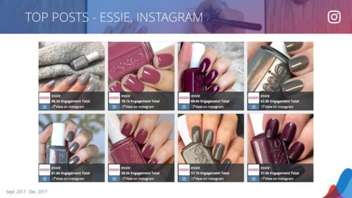 essie's 8 most engaging instagram posts