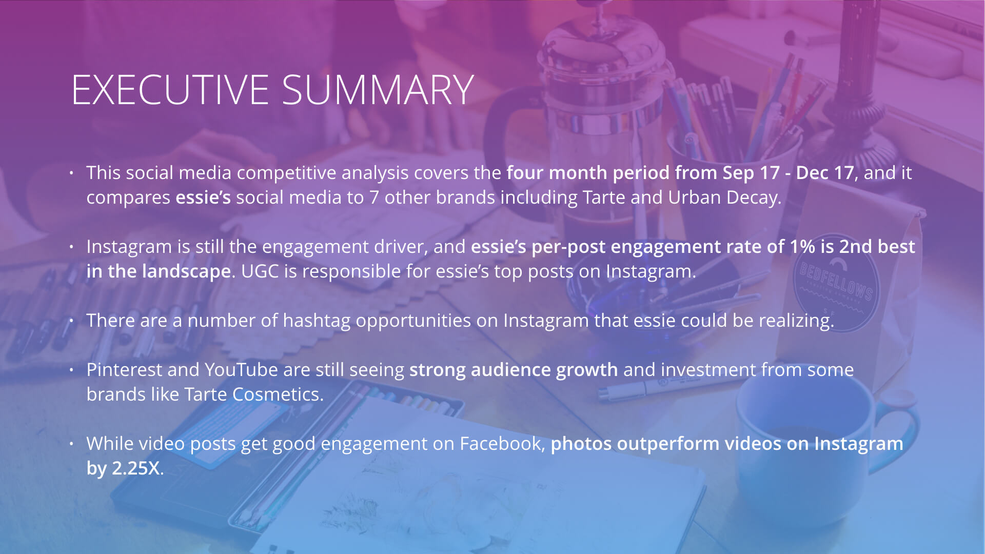 The Ultimate Social Media Competitive Analysis Template
