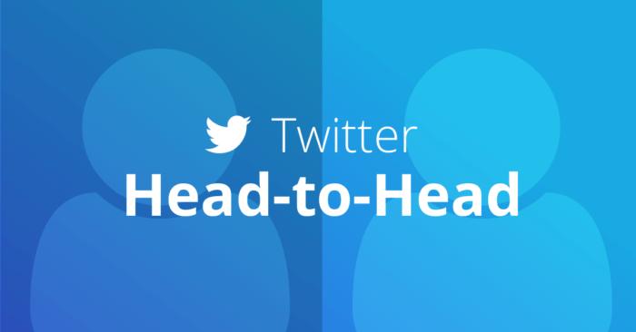 Twitter Head-to-Head
