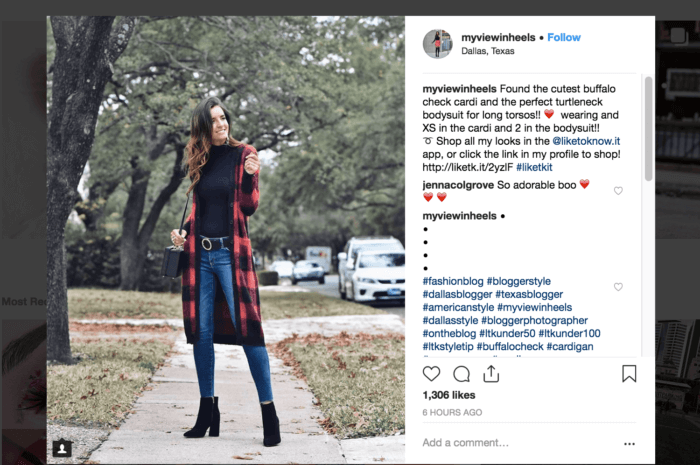 ASOS' successful social media campaign featured women in ASOS clothing using the #asseenonme hashtag