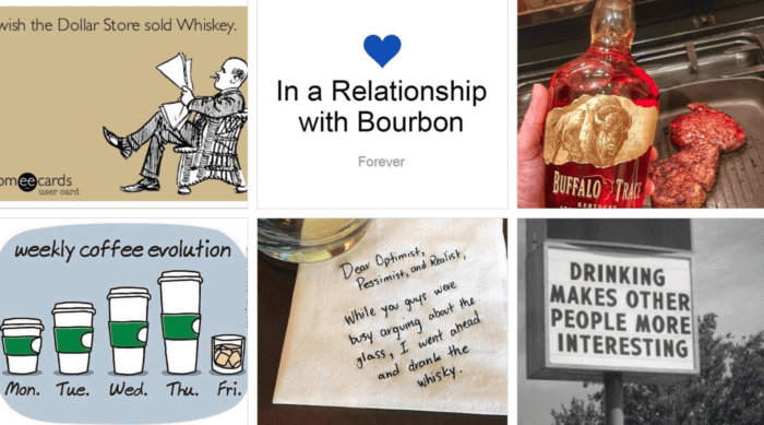 Silly Dad jokes from Buffalo Trace on Twitter