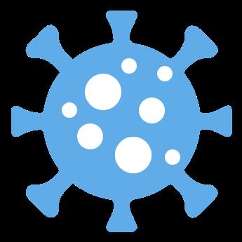 Icon of COVID virus