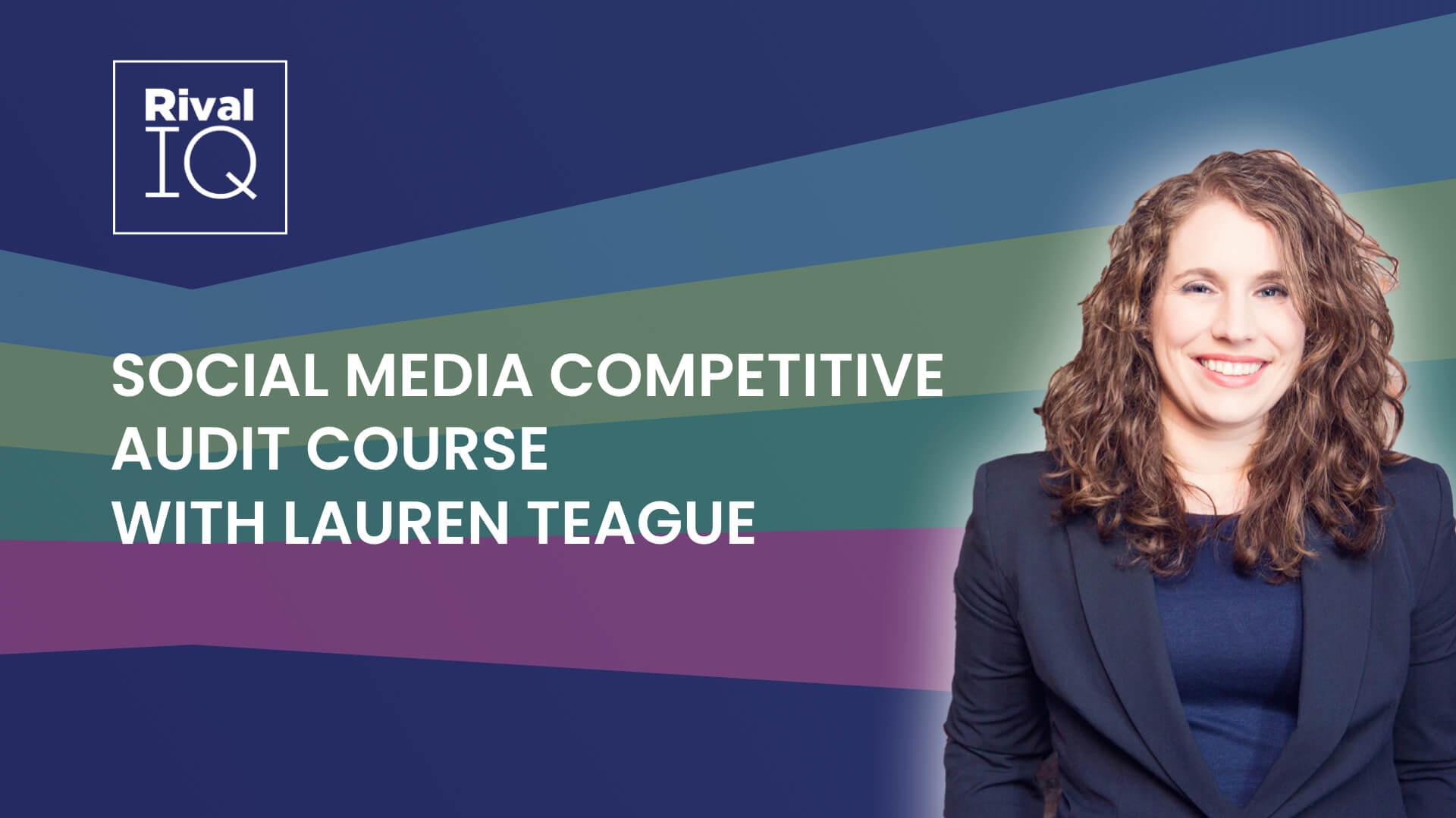 Social Media Competitive Audit Course