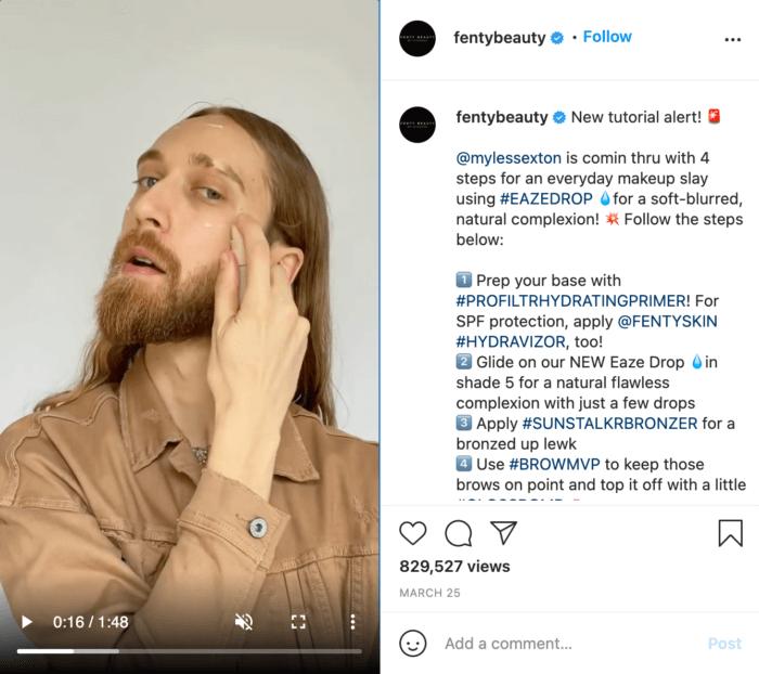 IGTV video from Fenty Beauty